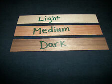 Wood wick- Genuine Wooden Wick pump strips 25 count your choice of color
