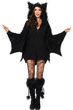 Brand New Cozy Bat Cave Animal Women Fleece Outfit Adult Costume