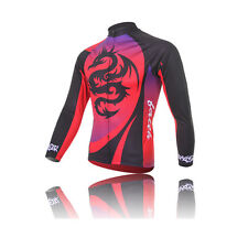XINTOWN 2014 NEW Long Sleeve Cycling Jerseys Clothing Dragon Totem Summer CHEAP