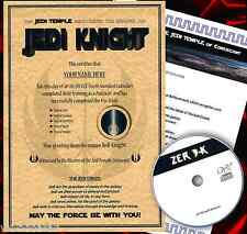 JEDI KNIGHT CERTIFICATE CHRISTMAS SPECIAL! Gift for him or her