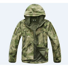 Men Tactical Jacket Soft Shell Shark Skin Army Camouflage Sport Outdoor Military