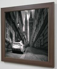 Dark Oak wood Style frame for Photo/Poster/Picture/Image Art/Large Frame