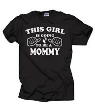 To Be A Mommy T-shirt Baby Announcement Tee Shirt Future mommy mom maternity