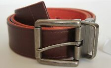 New@ Men's Calvin Klein Jeans Canvas / Leather Reversible Belt 75061