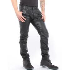 G-Star Pants Re Leather 5620 3D Low Tapered Black Men