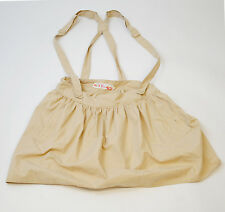 GENUINE GIRLS/WOMENS ROXY CHAMPAGNE SKIRT/BRACES (XAWSK084) (R2)