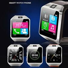Gv08 steel wire smart watch phone mobile with Java spy camera touch bluetooth