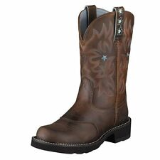 ARIAT FATBABY LADIES PROBABY COWBOY WESTERN BOOTS! DRIFTWOOD BROWN~10001132~
