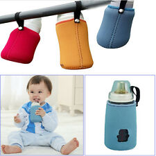 Baby Kids Portable Insulated Keep Warm Holder Pouch Cover for Milk Bottle SK