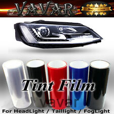 "12""x40"" Car Headlight Taillight Fog Light Tint Vinyl Film Overlay Roll Sticker"