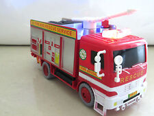 *NEW* BUBBLE FIRE ENGINE TRUCK ELECTRIC TOY WITH LIGHTS SOUNDS -BOY GIRL -UK-