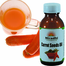 CARROT SEEDs OIL 100% Natural Pure UnDiluted UnCut ESSENTIAL OIL 5ML TO 1000ML