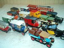 MATCHBOX & DINKY COLLECTABLE VEHICLES - Diddler, Jaguar etc   chose from menu