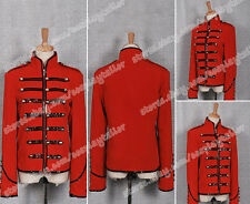 My Chemical Romance Cospaly Parade Military Red Black Jacket Leather Coat New