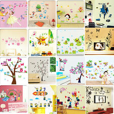 NEW Home Decors DIY Vinyl Art Wall Decals Sticker Removeable Paper Nursery Room