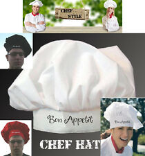 Chef Hat-Chef Designs, Traditional Chef Hat WITH FREE EMBROIDERY & shipping