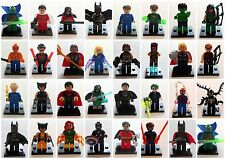 LEGO MINIFIGURES AND CUSTOM SUPER HEROES MINIFIGURES - PICK YOUR OWN -