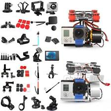Set 19 Accessori Cornice Base Copriobiettivo PTZ Monopiede per Gopro Hero HOT
