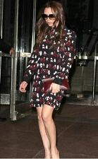 VICTORIA  BECKHAM WOMEN CELEB STYLE FASHION PATTERNED PARTY COCKTAIL DRESS