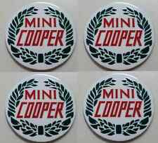 Centro de las Tapas Llantas  Wheels Center Cap Sticker metal MINI COOPER