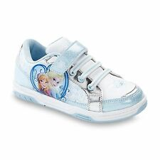 Disney Frozen Elsa Anna LIGHT-UP Shoes sneakers Toddler/Youth