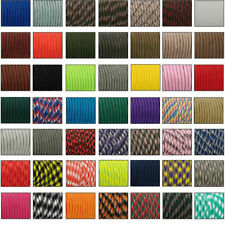550 Paracord Parachute Cord Lanyard Mil Spec Type III 7 Strand Core 33 50 100 FT