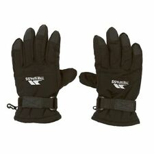 Trespass Kids Ruri Gloves - Ski/Snow Gloves - Black - Various Sizes - Box6004 G