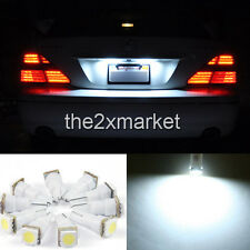 New T5 73 79 85 86 2721 SMD 1-LED light Lamp White LED 12V License Plate Light