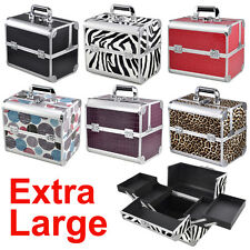 Professional Beauty Box Make Up Rose Vanity Case Cosmetic Nail Jewelry Case