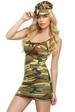 Cute Camo Dress 9527 by Dreamgirl Camouflage
