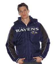 "Baltimore Ravens NFL G-III ""Rover"" Heavyweight Detachable Hooded Jacket"