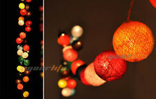 20/35 COTTON BALL FAIRY LED STRING LIGHTS WEDDING PARTY PATIO CHRISTMAS DECOR TO