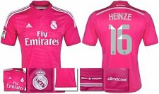 *14 / 15 - ADIDAS ; REAL MADRID AWAY SHIRT SS / HEINZE 16 = SIZE*