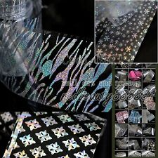1pc of 56 Fashion Nail Art Polish Glue Transfer Foil Tips Deco Cartoon Character