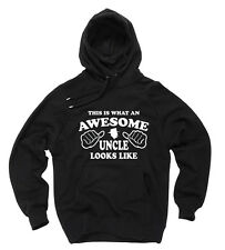 Gift For Uncle Birthday Gift Hooded Sweatshirt Awesome Uncle Sweater