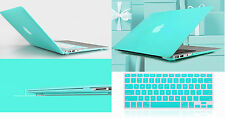 """Tffany Blue Hard Case Keyboard Cover For Macbook Pro Air Retina 11 13 15""""inch"""