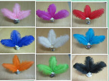 5/10/50/100 Pcs only ostrich feather 6-12 inch / 15-30 cm ( color choices)