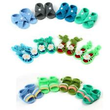 New Sandals Slippers Style Newborn Baby Boy Girl Crochet Knit Booties Crib Shoes