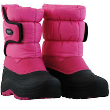 Khombu Kids Snow Trekker Winter Pink Waterproof Boots - Pick Boot Size - NEW