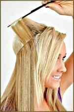 100% Human HALO Hair Extension, Flip In Remy, Wire Headband Crown Extensions 20""