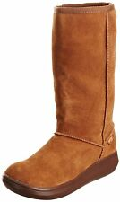 Rocket Dog Sugardaddy Chestnut Suede New Womens Hi Winter Shoes Boots