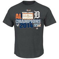 Detroit Tigers  2014 AL Central Division Champions Club House Tee - By Majestic