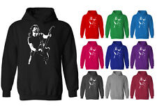 Mens Dave Grohl Foo Fighters Guitar Rock Icon Pullover Hoodie NEW XS-XXL