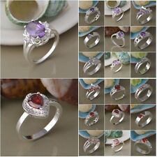 2014 Xmas Gift Wholesale Fashion Jewelry Silver Men/ Women Ring S925 + Gift Bag