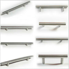 Bar Pull Kitchen Cabinet Handle Brushed Nickel Free shipping Lot Sizes 25 - 100