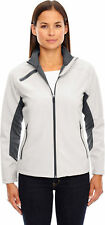 North End Sport Women's Front Pockets Three Layer Soft Shell Jacket. 78621
