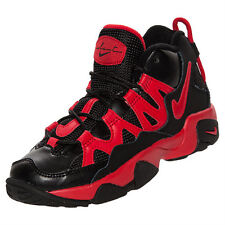 Preschool Nike Air Slant Classic Sneakers New, Black Red 603293-006 Speed Turf