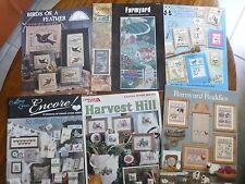 Country Count Cross Stitch Birds Feather Farmyard Cupboard Minis Harvest CHOICE