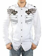 ROAR BUTTON UP MENS COLLARED LONG SLEEVE SHIRT SIZE M L XL - FORTIFIED