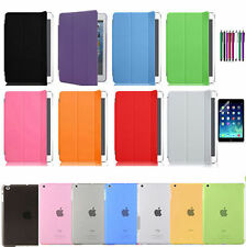 Magnetic Smart Cover Skin+Hard Back Case Stand for Apple iPad Air 1,2 (iPad 5,6)